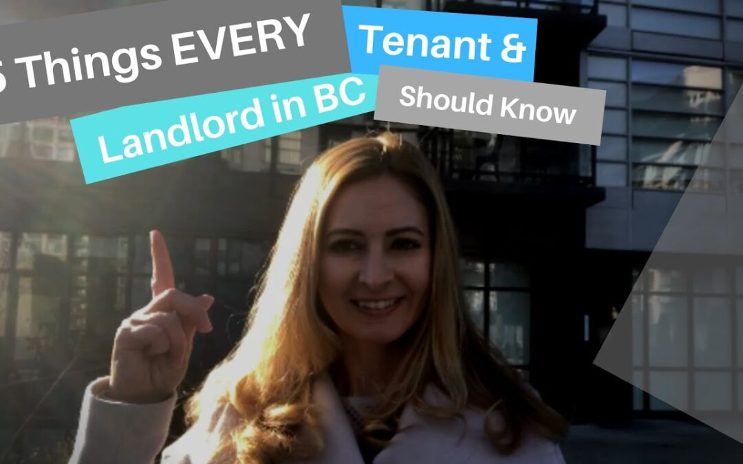 5 Things EVERY Tenant and Landlord Should Know